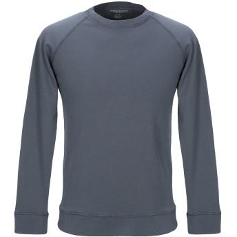 《期間限定セール開催中!》MAJESTIC FILATURES メンズ スウェットシャツ ブルーグレー M コットン 100%