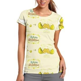 ぐでたま 野球服 野球半袖 野球Tシャツ スポーツ半袖 丸首半袖 Tシャツ スポーツTシャツ シンプル、快適 通勤 スポーツ 女 S-2XL