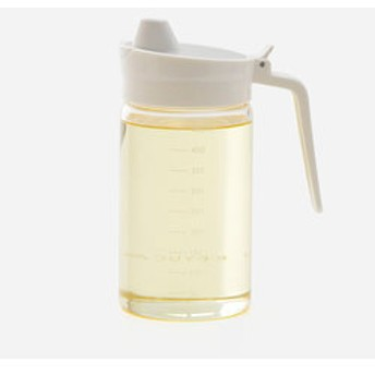 【KEYUCA:キッチン用品・調理器具】Relio オイルボトル ホワイト II