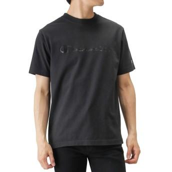 Champion(チャンピオン) クルーネックTシャツ 半袖Tシャツ クルーネック C3-M350-19 メンズ ブラック:XL