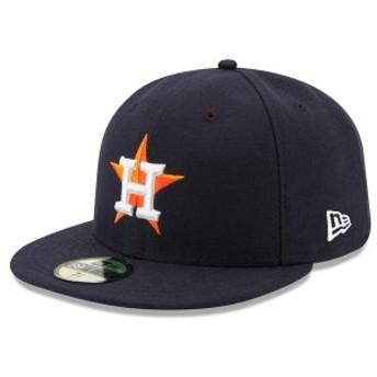 ニューエラ メンズ 帽子 アクセサリー Houston Astros New Era Home Authentic Collection On Field 59FIFTY Performance Fitted Hat Nav