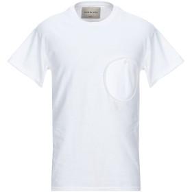 《期間限定セール開催中!》CORELATE メンズ T シャツ ホワイト L コットン 100%