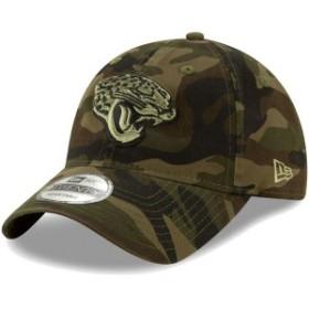 ニューエラ メンズ 帽子 アクセサリー Jacksonville Jaguars New Era Core Classic Woodland Camo Tonal 9TWENTY Adjustable Hat Camo