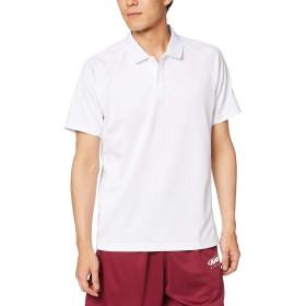 [コンバース] バスケ 半袖ポロシャツ 吸汗 速乾 CB291402 メンズ ホワイト 日本 L (日本サイズL相当)