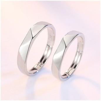 指輪 リング ダブルリング カップルリング 結婚指輪 婚約指輪 二連リング シルバーカラー きれい 美しい 繊細 上品 結婚 婚約 男性 女性 カップ