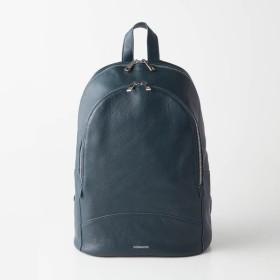"""バッグ カバン 鞄 レディース リュック 8ポケットレザーリュックサック""""marche"""" カラー 「ネイビー」"""