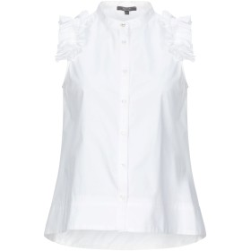 《期間限定 セール開催中》KOCCA レディース シャツ ホワイト XS コットン 100%