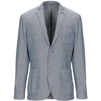 《期間限定セール開催中!》AT.P.CO メンズ テーラードジャケット ブルーグレー 50 コットン 100%