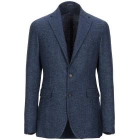 《セール開催中》TAGLIATORE メンズ テーラードジャケット ブルー 56 ウール 70% / ナイロン 16% / シルク 7% / 麻 7%