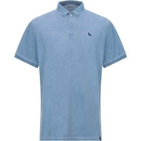 《期間限定セール開催中!》GRAN SASSO メンズ ポロシャツ パステルブルー 58 コットン 100%
