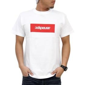 (アスナディスペック)ASNADISPEC tシャツ メンズ 大きいサイズ ティシャツ 半袖Tシャツ ボックス BOX ロゴ logo ストリート 柄 ブランド プリント t-シャツ asst4706 (M, WHITE)