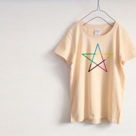 5 colors メンズ・レディース Tシャツ(ナチュラル)