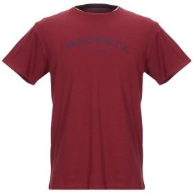 《期間限定セール開催中!》HACKETT メンズ T シャツ ボルドー XS コットン 100%