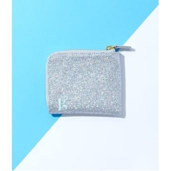 ボンジュールガール/【Bonjour Girl】Glitter Coin Case/シルバー/F