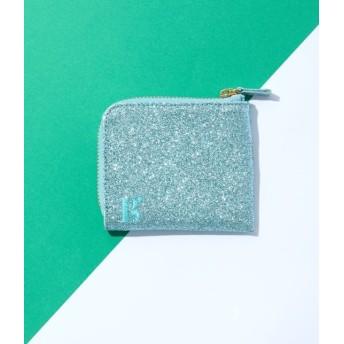 ボンジュールガール/【Bonjour Girl】Glitter Coin Case/グリーン/F