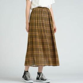 [マルイ]【セール】シフォンチェック柄プリーツスカート/リップスター(LIPSTAR)