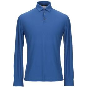 《期間限定 セール開催中》ROBERTO COLLINA メンズ ポロシャツ ブルー XXL コットン 100%