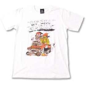 (ファーストライン) FIRST-LINE (KR) アップインスモーク UP IN SMOKE チーチ&チョン スモーキング作戦 1 WHT S/S 半袖 Tシャツ メンズ レディース M ホワイト