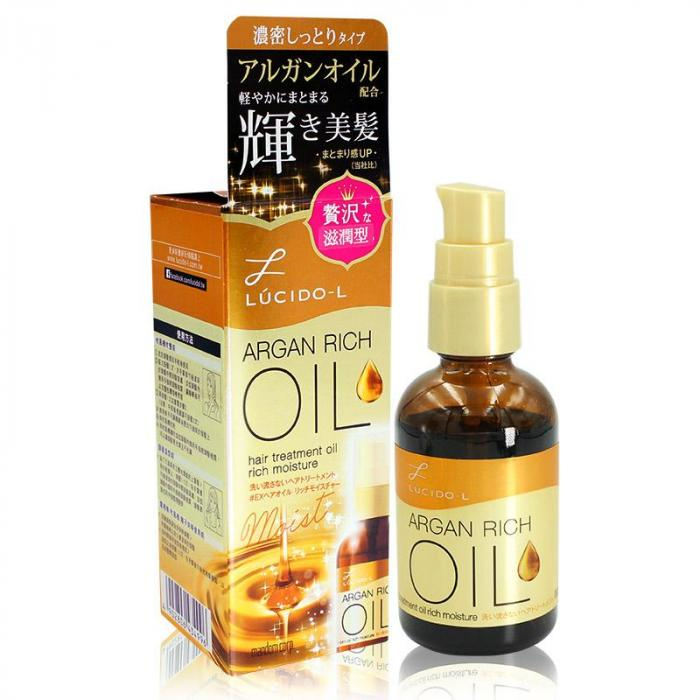 LUCIDO-L樂絲朵-L 摩洛哥護髮精華油(滋潤型) 60ml