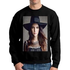 メンズ トップス スウェット モデルKendall Jenner メンズクルーネック長袖セーター、カジュアルパンツ、ジーンズ、スポーツシューズ、キャンバスシューズと一緒に着用できます、スウェット