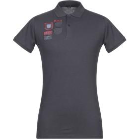 《期間限定セール開催中!》LIU JO MAN メンズ ポロシャツ ダークブルー S コットン 95% / ポリウレタン 5%