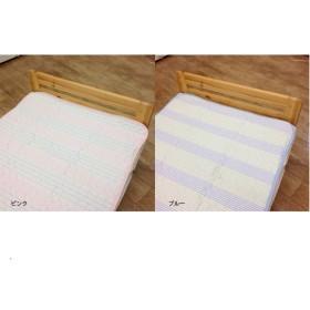 吸水速乾サッカー敷きパッド 夏 100x205 シングルサイズ敷きパッド ベッド敷きカバー/布団敷きカバー