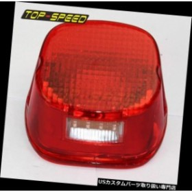 USテールライト ハーレー用LEDナンバープレートテールライトFLST FLSTF FLSTSB FLHR FLHTC FLHTCU XL  LED License Plate Tail Light For