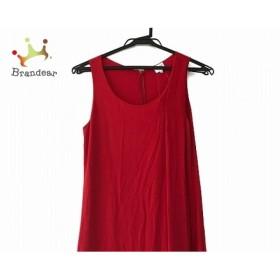 アルマーニコレッツォーニ ARMANICOLLEZIONI ドレス サイズ42 M レディース レッド  値下げ 20191004