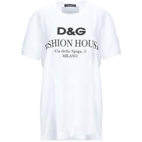 《期間限定 セール開催中》DOLCE & GABBANA レディース T シャツ ホワイト 36 コットン 100%