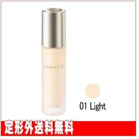 【カネボウ】ルナソル グロウイングウォータリーオイルリクイド #01 Light (SPF25/PA++) 30ml ※定形外送料無料