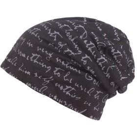 ビーニー帽子 医療用帽子 ニット帽 オールシーズン 通気性抜群 メンズ レディース ケアキャップ 抗がん剤帽 男女兼用 (ブラック)