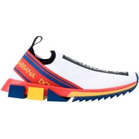 《期間限定セール開催中!》DOLCE & GABBANA メンズ スニーカー&テニスシューズ(ローカット) ホワイト 39 紡績繊維 / ゴム