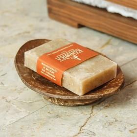 ソープディッシュ 石鹸トレー 船形 石鹸置き アジアン バリ雑貨 ココナッツ ナチュラル おしゃれ 浴室 洗面所