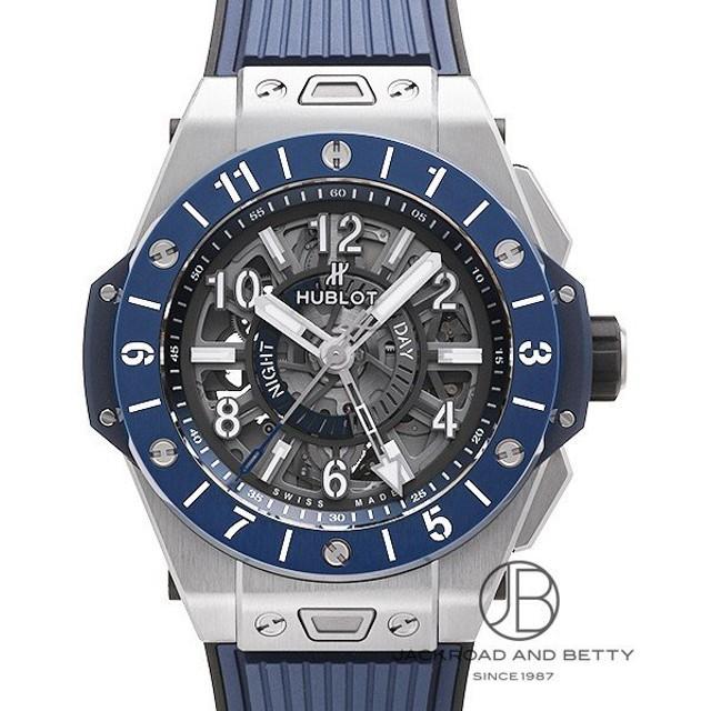 on sale 73a26 d88e3 ウブロ HUBLOT ビッグバン ウニコ GMT チタニウム ブルー ...