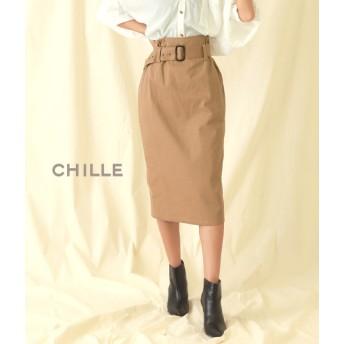 【セール開催中】ANAP(アナップ)ベルト付ツイルナロースカート