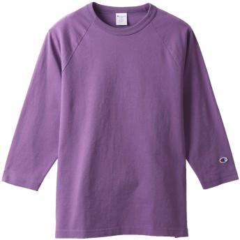 T1011(ティーテンイレブン) ラグラン3/4スリーブ【7分袖】Tシャツ 19FW MADE IN USA チャンピオン(C5-P404)【5400円以上購入で送料無料】