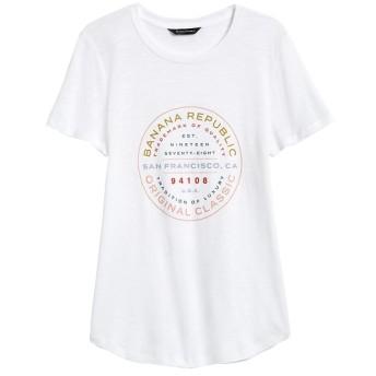 Banana Republic スラブコットンモダール グラフィックTシャツ