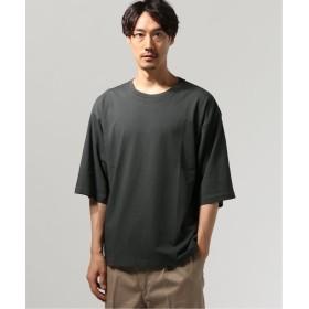 ジャーナルスタンダード 40/2キョウネン クルーネック エルボースリーブ Tシャツ メンズ グレー S 【JOURNAL STANDARD】