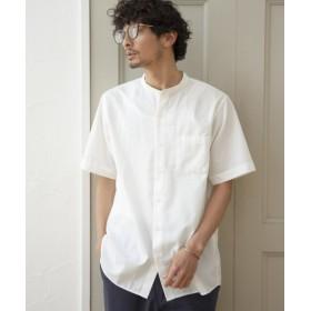 (GLOBAL WORK/グローバルワーク)パナマバンドカラーシャツ/ [.st](ドットエスティ)公式