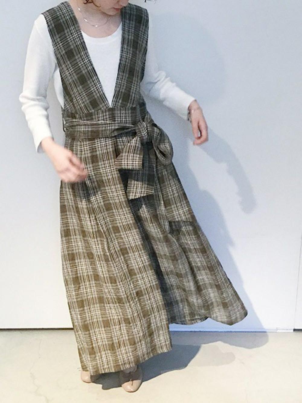 グッドガール風のジャンパースカート