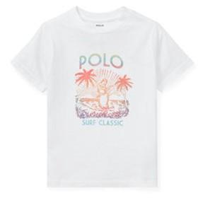 【POLO RALPH LAUREN:トップス】(ボーイズ 2才~4才)コットン ジャージー グラフィック Tシャツ