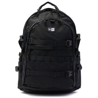 ギャレリア ニューエラ リュック NEW ERA メンズ Carrier Pack キャリアパック 大容量 A4 B4 通学 35L レディース ユニセックス ブラック系1 F 【GALLERIA】