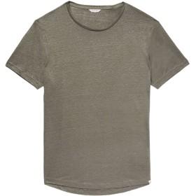 《期間限定セール開催中!》ORLEBAR BROWN メンズ T シャツ グレー XXL 麻 100%