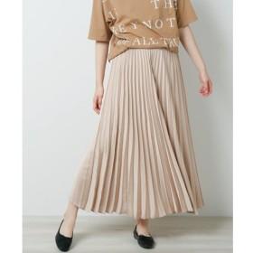 【ミューカ/MJUKA.】 サテンプリーツスカート