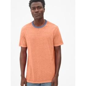 Gap バーンアウト リンガークルーネックTシャツ