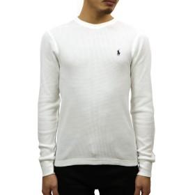 [ポロ ラルフローレン] POLO RALPH LAUREN 正規品 メンズ ワッフル サーマル 長袖Tシャツ LONG SLEEVE WAFFLE THERMAL TEE S 並行輸入品 (コード:4132450501-2)
