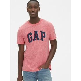 Gap 3Dオーバーラップロゴ クルーネックTシャツ
