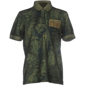 《期間限定セール開催中!》NAPAPIJRI メンズ ポロシャツ ミリタリーグリーン S コットン 100%