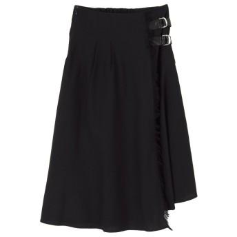 titivate ティティベイト フリンジフェイクラップスカート