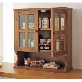 キッチンカウンターシリーズ - セシール ■カラー:ブラウン アンティックホワイト ■サイズ:B(幅68cm),D(幅90cm),A(幅46cm),C(幅60cm)